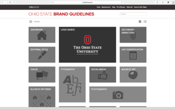 Ohio State Brand Guidelines